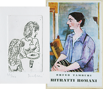 Book with etching de  : Ritratti Romani