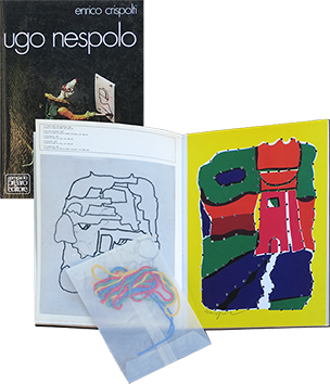 Book with screenprints de  : Ugo Nespolo, Collana Primo Regesto