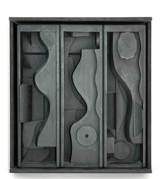 Multiple-Skulptur de Nevelson Louise : Night blossom