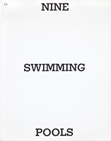 Illustrated book de  : Nine Swimming Pools and a Broken Glass
