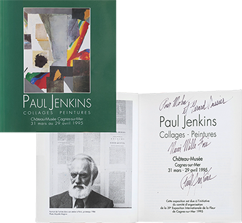 Exhibition catalogue de  : Paul Jenkins : collages et peintures