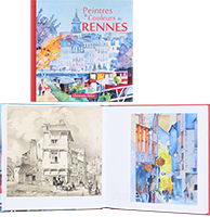 Illustrated book de  : Peintres et couleurs de Rennes