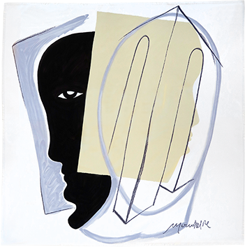Multiple original de Rebeyrolle Paul : Foulard Maeght II