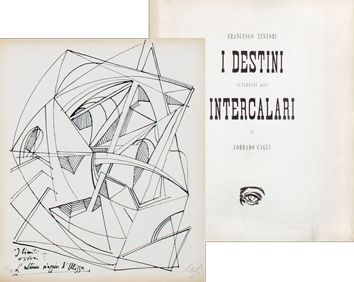 Book with lithographs de  : I destini alternati agli intercalari