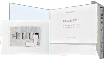 Book with etchings de  : Whale Talk