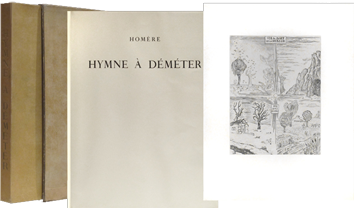 Illustrated book de  : Hymne à Déméter
