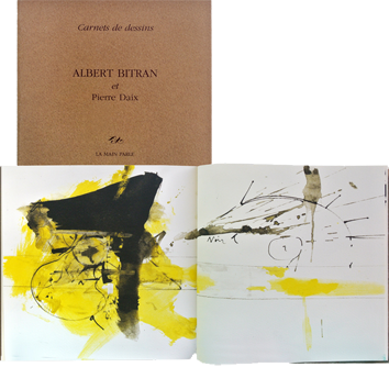 Book with lithographs de  : Carnets de dessins