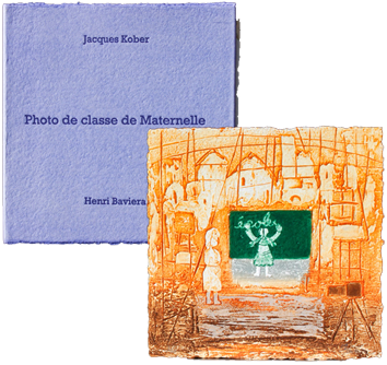 Book with etchings de  : Photo de la classe maternelle