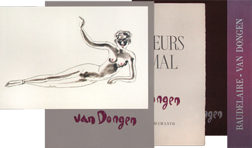 Book with etchings de  : Les Fleurs du Mal