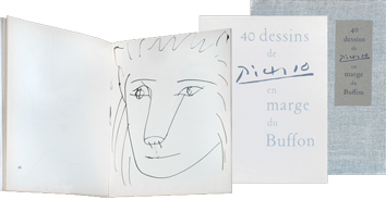 Illustrated book de  : Quarante dessins de Picasso en marge du Buffon